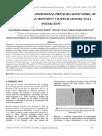 Generating Three-dimensional Photo-realistic Model of Archaeological Monument via Multi-sensors' Data Integration