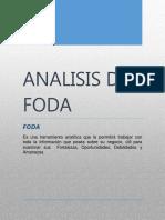 analisis foda-Auditoria Sistemas