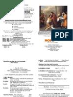 Hope Bulletin May 30, 2010