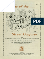 Secrets of the Street Conjuror by Wilfred Huggins & Frederic Culpitt