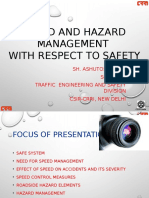 Speed and Hazard Management