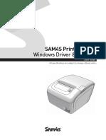 SAM4S Windows Driver Installation Guide