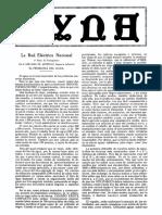 1927-01-001 La Red Electrica Nacional (Parte i)
