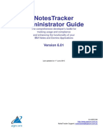 NotesTracker Admin Guide v6.01 (2016-08-05)