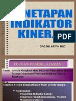 Penetapan indikator dan Pengukuran Kinerja.ppt