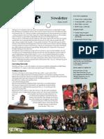 Newsletter 2008 06June