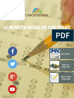 15 Minute Guide to the GMAT