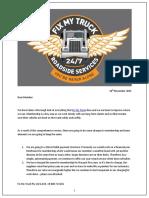 Fix My Truck membership renewal