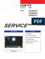 Samsung LCD Color TV LN32B530P7F LN37B530P7F LN40B530P7F LN46B530P7F [Chassis N64C] Parts and Service Manual