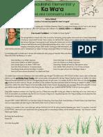 KES Newsletter #1