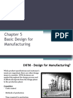 Deasign for Assy and Manufacturing
