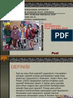 123555753 Presentasi Post Op Laparotomy Ppt Ppt