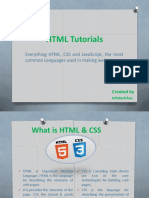 HTML Tutorials - InfotechAus