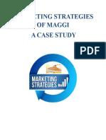 MARKETING STRATEGY OF MAGGI