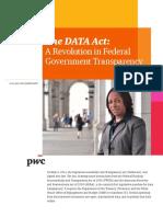 Pwc Data Act Gov Exec 2015