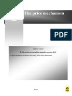 Price Mechanism Demand & Supply