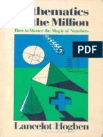Mathematics for the Million - How to Master the Magic of Numbers (Gnv64)