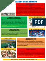 Actividades 8 Agosto-14 Agosto