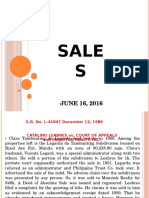 Philippine Civil Code Law on Sales - Case Digest (Powerpoint Presentation)