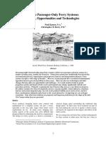 Urban Passenger-Only Ferry Systems Issues, Opportunities and Technologies, Kamen, 2006 Kamen.urban_passenger-Only.2006.TRANS