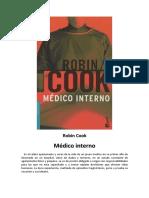 Robin Cook - Médico Interno