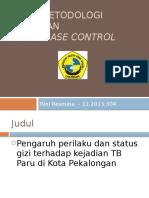 Ppt Artikel Metpen case control