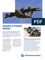 Actuation Propeller Systems