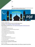 Webquest - Ramadan (Os)