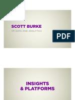 Yahoo! Data and Analytics Presentation (VP Scott Burke)