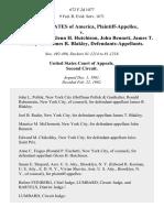 United States v. Jules Saint Prix, Glenn H. Hutchison, John Bennett, James T. Blakley and James R. Blakley, 672 F.2d 1077, 2d Cir. (1982)