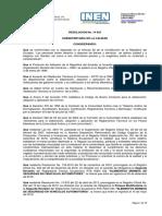 Rte 034 3r Resolucion 14453 Reglamento Tecnico Inene