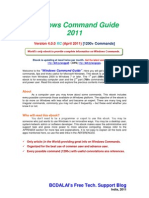 Windows Command Guide 2010