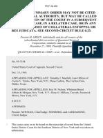 Green v. Quantum Chemical Corp., 99 F.3d 401, 2d Cir. (1988)
