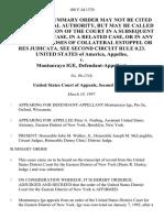 United States v. Montunrayo Ige, 108 F.3d 1370, 2d Cir. (1997)