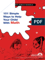 101 simple ways to help your child with math