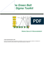 Six Sigma Green Belt Manual