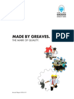 Greaves Cotton Annual Report Important