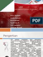 Ppt Idiopatik Trombositopenia Purpura