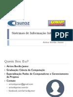 Sistemas de Informação Inteligentes