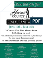 Harford Restaurant Week0001