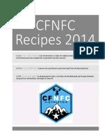 CFNFC Cookbook
