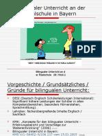 Bilingualer Unterricht Realschule Bayern