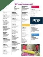 2016 Eastern Connecticut Fair Schedule (Norwich Magazine)