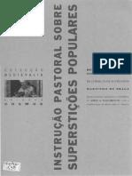NASCIMENTO, Aires. Instrução Pastoral Sobre Superstições Populares