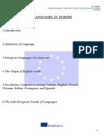 Languages in Europe