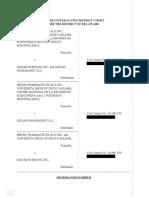 Idenix Pharmaceuticals, Inc. v. Gilead Sciences, Inc., C.A. No. 13-1987-LPS (D. Del. July 20, 2016)