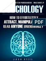 Psychology How to Effortlessly Attract, Manipulate and Read Anyone Unknowingly [-PUNISHER-]
