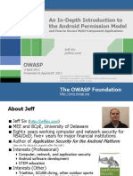ASDC12-An InDepth Introduction to the Android Permissions Modeland How to Secure MultiComponent Applications