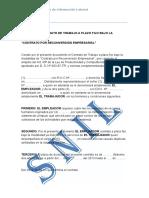 Modelo de Contrato Por Recorversion Empresarial