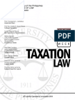 Taxation Law Up Boc 2014